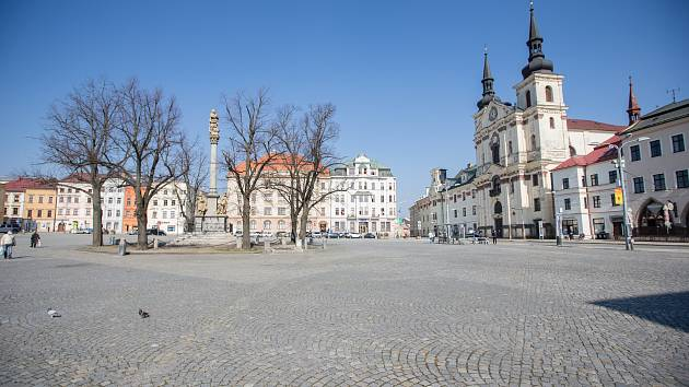 Masarykovo náměstí v Jihlavě.