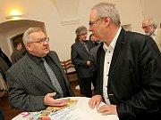 Hosté diskusního setkání s hejtmanem Kraje Vysočina Jiřím Běhounkem