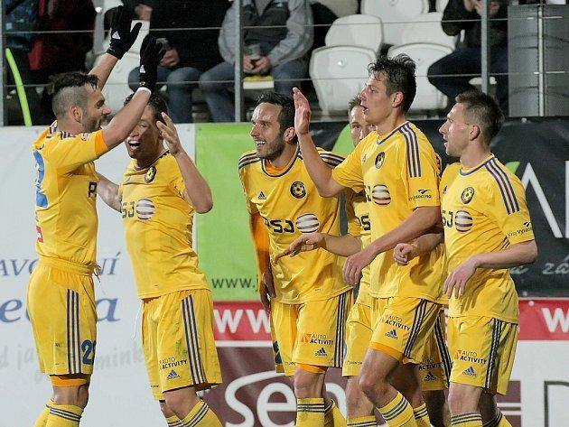 V březnu slavil FC Vysočina nejvyšší výhru v první lize v historii. Olomouc rozstřílel 5:0.