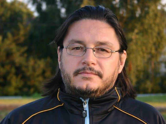 Trenér polenských fotbalistů Milan Palkovič.