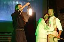 Premiéra klasické divadelní hry Lucerna v podání Fakultní divadelní společnosti z Brna. Hru hostilo Univerzitní centrum Telč.