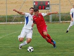 Speřice v generálce na sezonu porazily Leštinu 2:0. Zápas nabídl hodně důrazných soubojů.