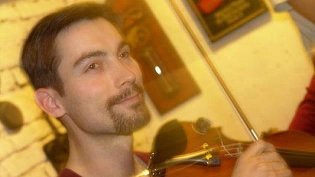 Pepa Malina z jihlavské kapely P.R.S.T.
