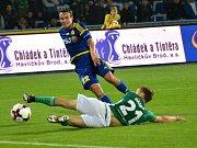 Ostudný výkon. Jihlavští fotbalisté s klokany zcela propadli.