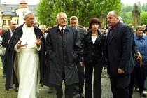 V květnu 2004 zavítal tehdejší vysočinský hejtman František Dohnal s prezidentem Václavem Klausem do Želiva, kde je klášterem provedl opat Bronislav Ignác Kramár.