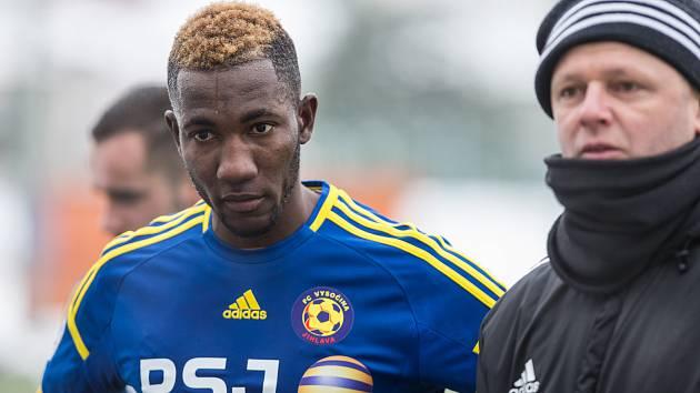 Třiadvacetiletý gambijský útočník Lamin Jawo.