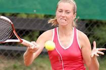 Jihlavská tenistka Iveta Gerlová potvrdila v Ústí nad Orlicí skvělou aktuální formu, na cestě za obhajobou loňského českého mistrovského titulu ztratila pouze dva sety.