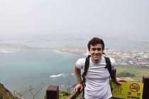 Peter Chalupianský strávil semestr na škole v Jižní Koreji. Foto: archiv pořadatele
