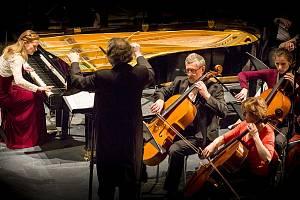 Koncert jihlavské Filharmonie Gustava Mahlera.