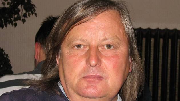 Asistent trenéra jihlavských fotbalových juniorů Jindřich Březina.
