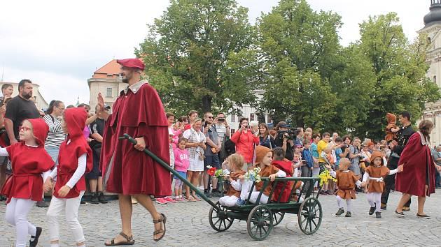 Jihlavské Havíření přilákalo několik stovek účastníků.