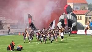 Vysočina Gladiators nastupují k utkání se Steelers