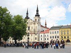 Holešovská výzva na jihlavském náměstí