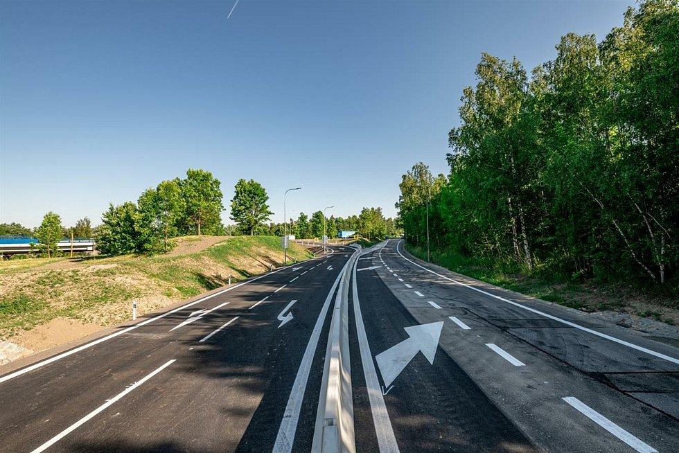 Sjezd z dálničního přivaděče ve směru od Znojma už mohou motoristé využívat.