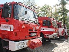 Stanice jihlavských profesionálních hasičů.