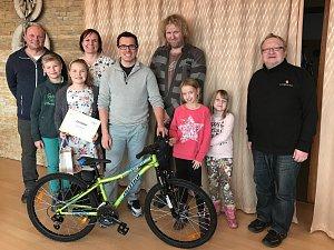 Rodina z Telče pomohla rodině ze Stonařova