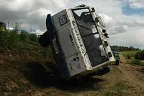 Nějak takto vypadalo Mistrovství České republiky v Truck trialu na předchozích závodech. V Rančířově u Jihlavy bude čekat na diváky podobná podívaná.