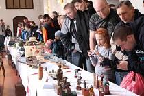 Rekordní návštěvnost. V letošním roce přišlo na soutěžní výstavu s názvem O Štít města Jihlavy kolem sedmi stovek návštěvníků. Ti mohli během sobotního dopoledne a odpoledne zhlédnout na čtyři sta soutěžních modelů a další stovku nesoutěžních kousků.