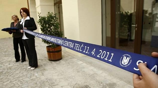 Slavnostní otevření Univerzitního centra Telč.