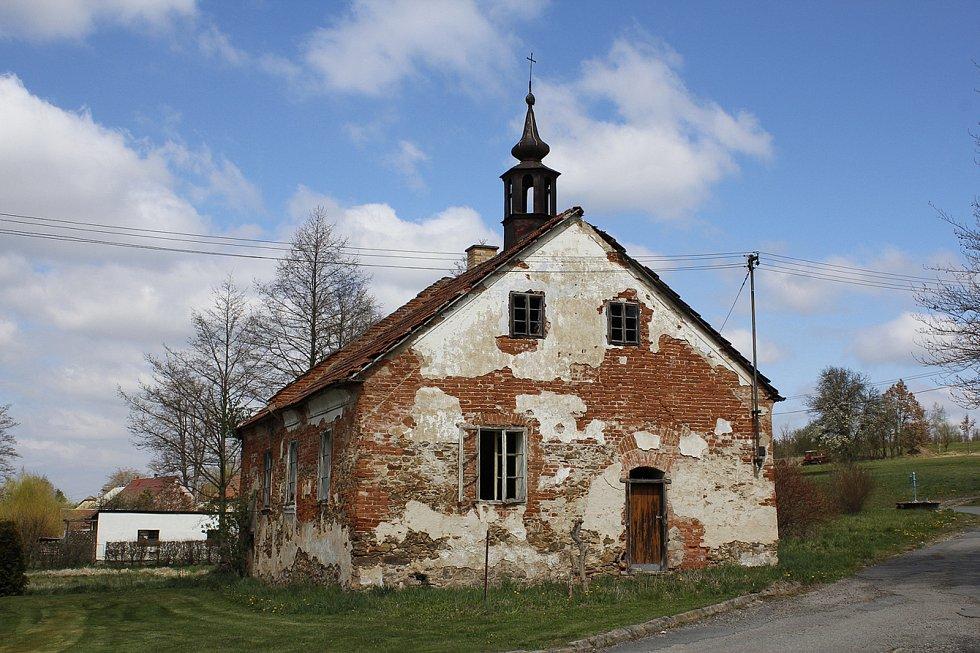 Bývalá kovárna ve Věžnici.