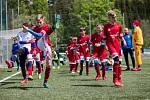 Žáci FKM Vysočina už mají za sebou týden tréninků v omezeném počtu. Od 4. května už budou moci začít hrát i fotbal.