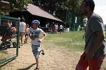 V Puklicích se v sobotu odpoledne bavily hlavně děti.