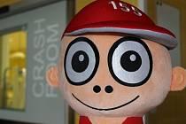 Velké oči Kryštůfek vznikl ve spolupráci s psychology. Velké oči mají zaujmout menší děti.