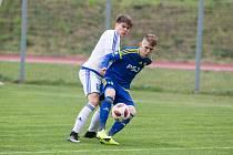 Fotbalové Utkání U19 mezi FC Vysočina Jihlava a FC Fastav Zlín.