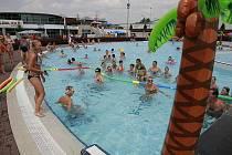 Za červen přišlo do jihlavského aquaparku přes čtyři ticíce lidí a za prvních jedenáct dní v červenci šest a půl tisíce.