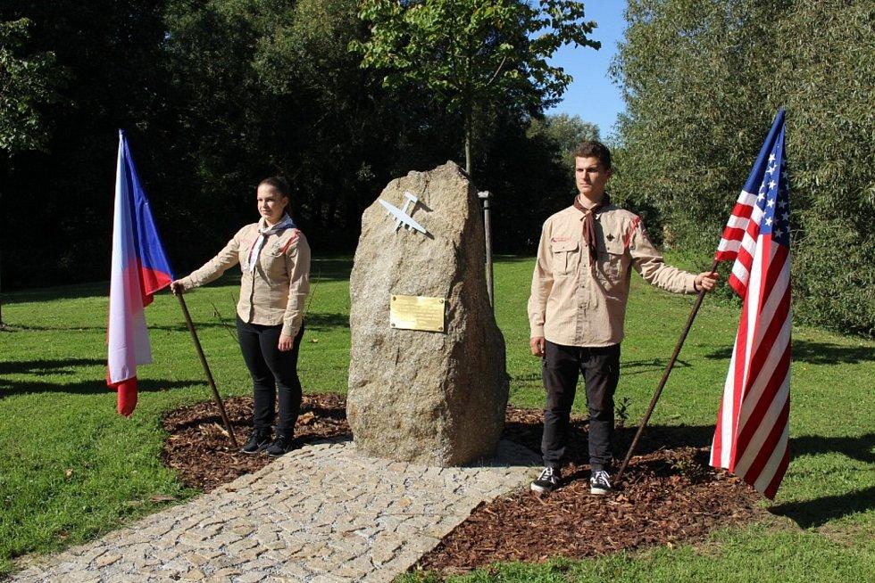 Odhalení památníku z 21. září 2019. Foto: se souhlasem Klubu Za historickou Polnou