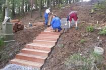 Nová stezka na Kalvárii ve Stonařově