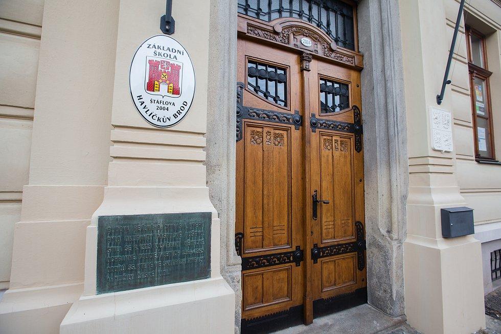 Základní škola Štáflova v Havlíčkově Brodě.