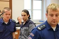 Martin Štěpánek byl k soudu předveden eskortou, protože si odpykává trest za jinou trestnou činnost. Po včerejším rozsudku by měl být ve vězení až do roku 2023.
