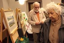 V Jihlavě je řada seniorských spolků, Svaz důchodců dělá například výstavy vlastních prací.