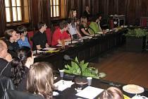 Zá názory studentů by se nemusel stydět ani nejvyšší politik. Jejich diskuse navíc včera probíhla kultivovaně a na úrovni.