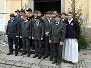 Tradiční šestnáctá myslivecká Svatohubertská mše se konala v neděli v novoříšském kostele.