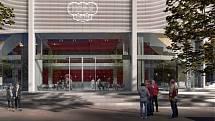Jihlavská radnice zveřejnila vizualizaci nové haly.