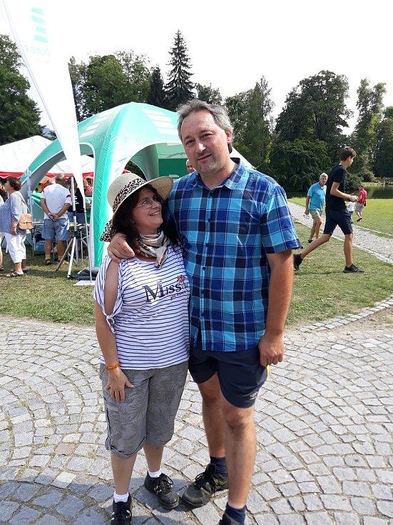 Nyní už jsou Miroslav Zimola s Monikou Frkalovou šťastní, všechno dobře dopadlo.