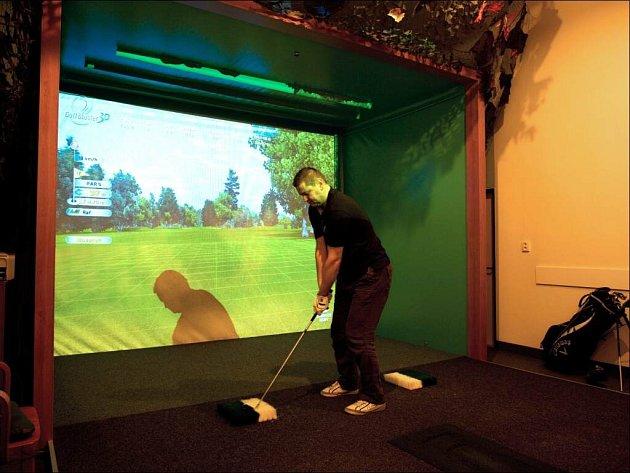 Zimní golfový turnaj v Jihlavě