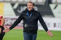 Trenér FC Vysočina Jihlava Aleš Křeček.