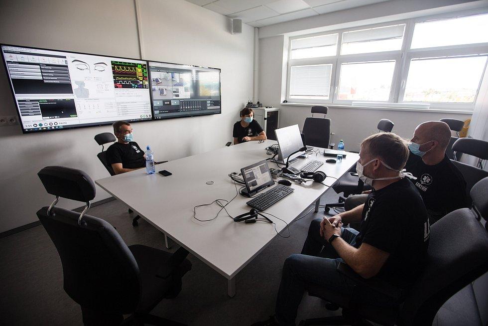 Výcvikové centrum Zdravotnické záchranné služby Kraje Vysočina.