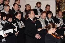Rakouský operní pěvec Martino Hammerle Bortolotti ukončil minulou sobotu vánoční čas v Jihlavě koncertem v chrámu svatého Ignáce z Loyoly.