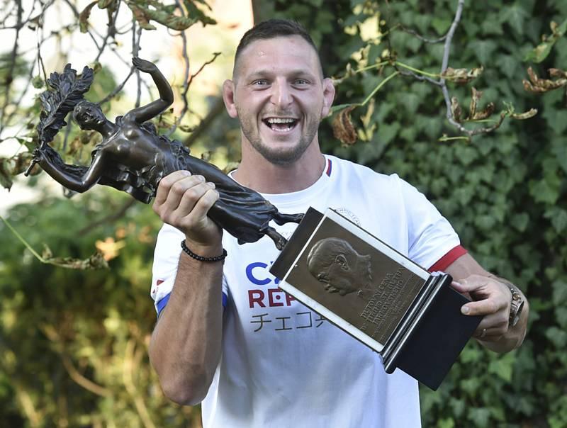 Lukáš Krpálek 23. července 2020 v Praze převzal Cenu Gutha-Jarkovského za nejlepší výkon předešlého roku podle sportovců.