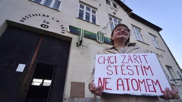 Setkání zástupců ze SÚRAO s obyvateli lokality Hrádek.
