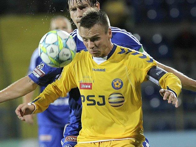 Stanislav Tecl má na podzim parádní formu. V lize skóroval už pětkrát, nyní dal dva góly i v reprezentaci.