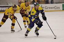 Jihlavští hokejisté porazili v pondělí Šumperk a dnes si budou chtít doma poradit i s Vrchlabím.