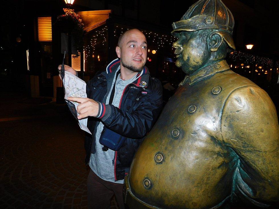 Jakub Skočdopole z Polné rád cestuje.