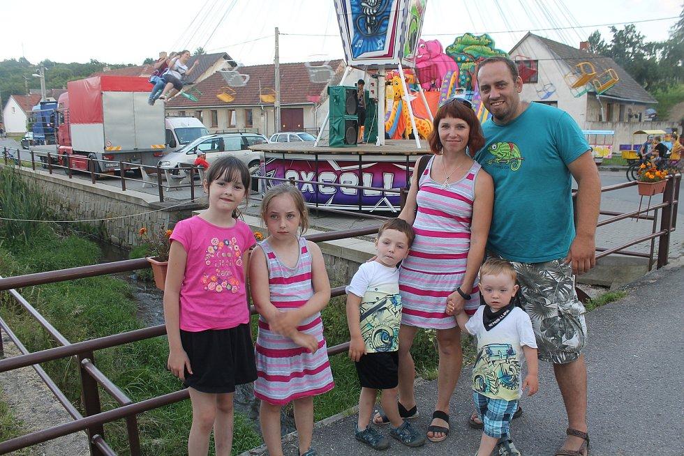 I letos se poslední červencový víkend konala pouť v Kamenici.