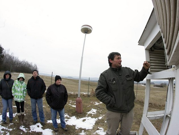 Stanici v Kostelní Myslové přiblížili návštěvníkům profesionální meteorologové.