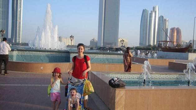 Karolína Jarošová ve Spojených arabských emirátech.